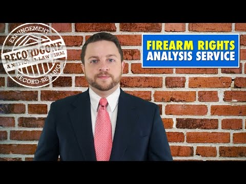 How to Restore Your Firearm Rights