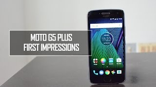 Moto G5 Plus (Lunar Grey) Hands on and First Impressions