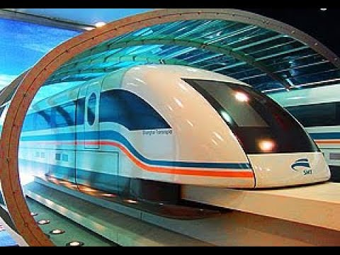 TRAVELLING IN SHANGHAI MAGLEV TRAIN