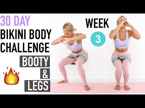 Body Workout 3 Day Week Leg Bikini ChallengeBootyamp; 30 Youtube m80wvNnO
