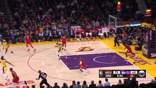 3rd Quarter, One Box Video: Los Angeles Lakers vs. Houston Rockets