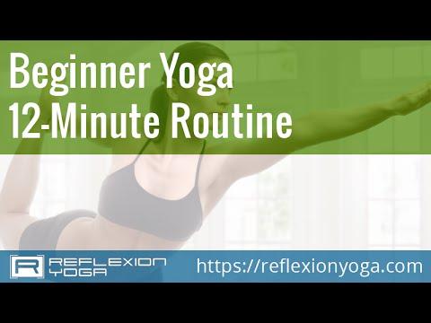 Online Yoga for Beginners - 12-Minute Beginner Yoga Routine!