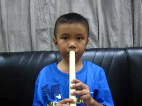 เป่าขลุ่ย เพลงค้างคาวกินกล้วย (V.Slow)