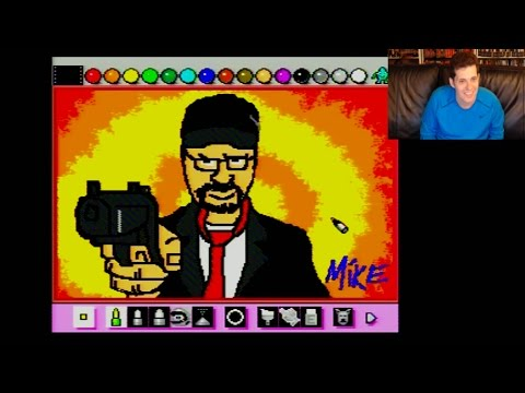 Mario Paint Live Stream - Battletoads, JonTron, Nostalgia Critic & more