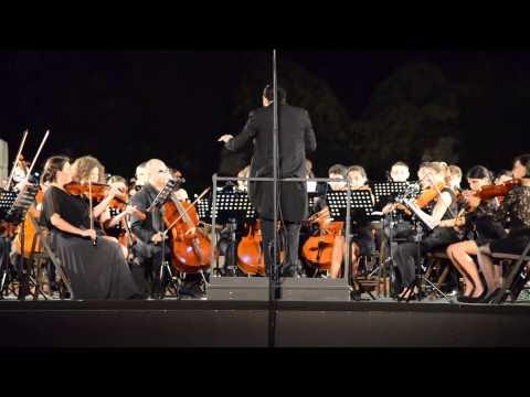 Settima Sinfonia di Beethoven eseguita dall'orchestra del Conservatorio di Bn.