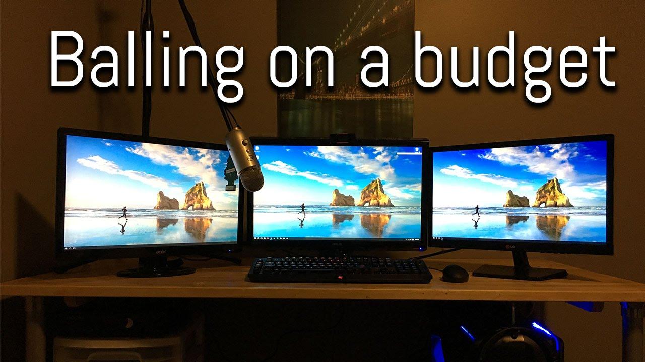 how to get a triple monitor setup