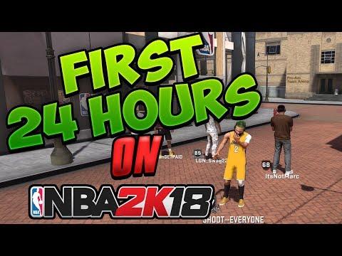 NBA 2K18   MyPARK 100 GAME WINSTREAK ATTEMPT !!! 24 HOUR STREAM