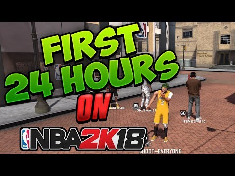 FIRST 24 Hours On NBA 2K18 | Shot Creator Playmaker 6'3 Going CRAZY