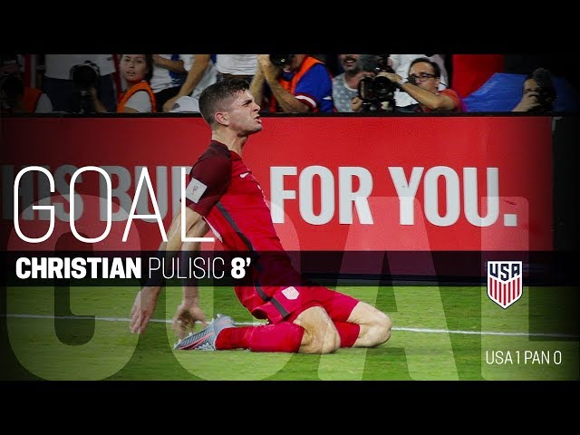 MNT vs. Panama: Christian Pulisic Goal - Oct. 6, 2017