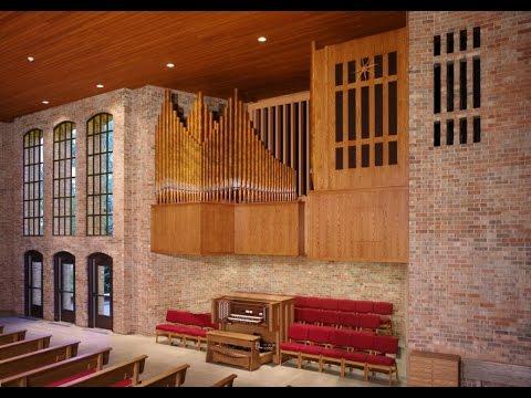 Reuter Pipe Organ - First Presbyterian Church, Lawrence, KS