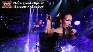 Rebecca Ferguson sings Just Like A Star - The X Factor Live Final - itv.com/xfactor