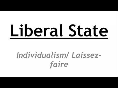 Political Science Optional for UPSC || IAS - Laissez faire / Individualist Liberal State