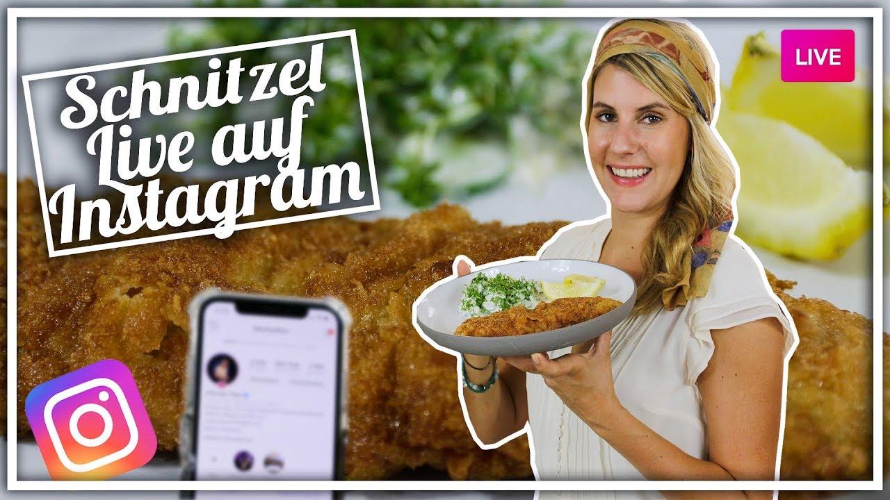 Superknuspriges Schnitzel live auf Instagram   Rezept und Eure ...