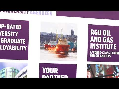 RGU at Offshore Europe 2017