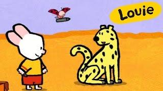 Dibujos animados para niños - Louie dibújame un guepardo HD