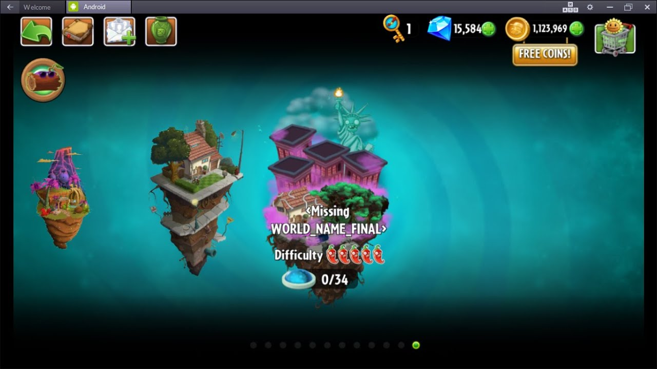 Plants vs Zombies 2   New World #12 and update 4 7 ??? + Apple Mortar (New  Plant) !