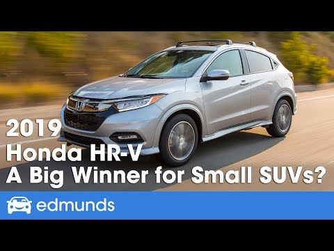 2019 Honda HR-V Review: Hauls Everything, but Not Fast