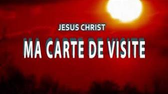 Jesus Ma Carte De Visite