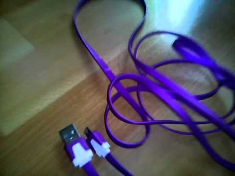 Everbuying 2m Noodle Appearance Design Micro USB Cable