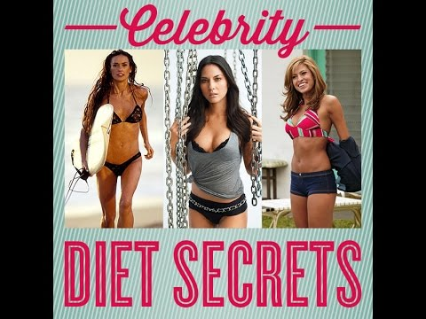 Celebrity Diet Celebrity Weight Loss Workout Secrets Youtube
