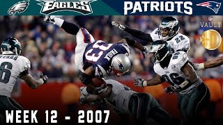 The Sunday Night Scare! (Eagles vs. Patriots, 2007) | NFL Vault Highlights