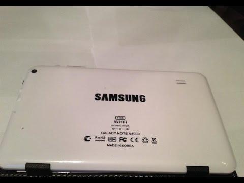 Samsung Galaxy Note N8000 Korea 64GB(MT6572A) Прошивка
