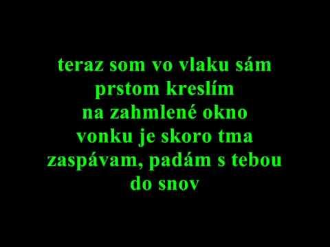 peter cmorík - dažď s textom