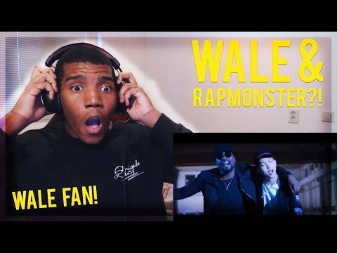 WALE FAN REACTS TO RAPMONSTER/RM & WALE - 'CHANGE'! REACTION! ( OH MY GOD...)