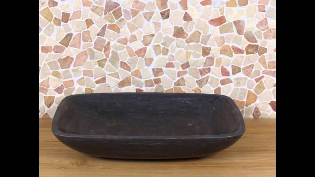 Marmeren wastafels. Ook met rvs-frame bij BadkamerExclusief.nl - YouTube