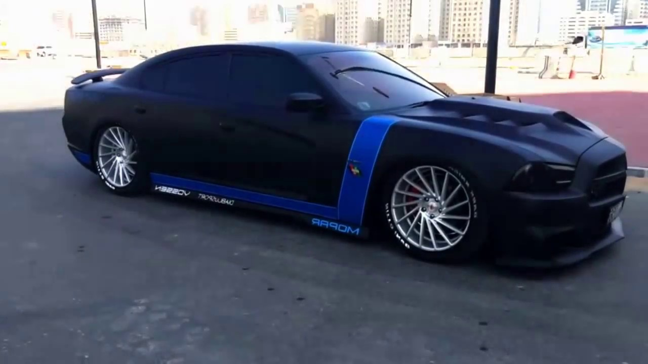 Digital Airrex Airbag Suspension Dodge Charger - YouTube