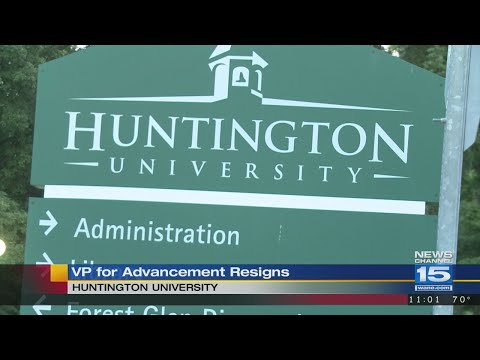 Huntington University Vice President resigns