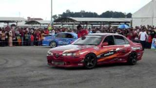 Rempit & Drift di Jomheboh Melaka.