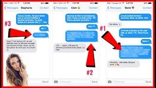 3 SMS EFFICACES POUR RELANCER UNE FILLE QUI IGNORE TES MESSAGES