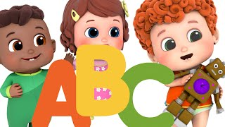 ABC Song   School song, Phonic and Alphabet Songs and Learn Fruits name - Blue Fish