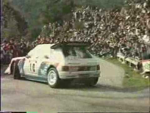 Peugeot 205 Turbo 16 Gruppo B : Rally anni 80 da non perdere
