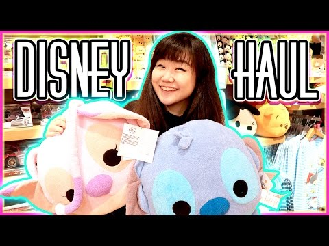 Disney Store Toy Hunt & Holiday Haul - Plushes Galore! - Tsum Tsums, Moana, Zootopia and Stitch!