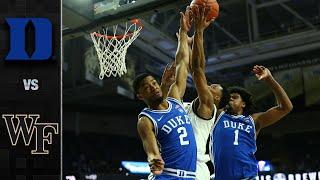 Duke vs. Wake Forest Men's Basketball Highlights (2019-20)