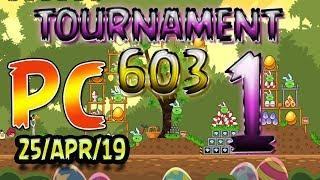 Angry Birds Friends Level 1 PC Tournament 603 Highscore POWER-UP walkthrough #AngryBirds