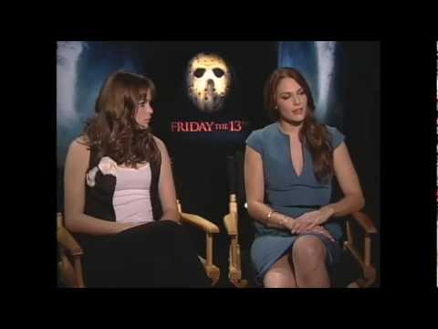 Amanda Righetti & Danielle Panabaker talk Friday the 13th  JoBlo.com