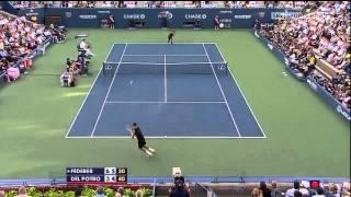 2009 US Open Final Highlights- Federer vs. Del Potro HD