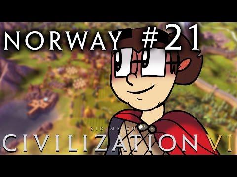 Civilization VI [Six!!] - Norway: Religious Vikings! - Part 21