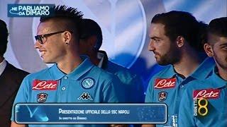 Presentazione del Napoli 2015/16 - Dimaro 27/07/15