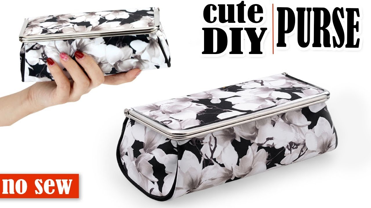 144dc891bc DIY PURSE BAG WITH MIRROW    Toolbox Pouch Storage Case Tutorial No ...