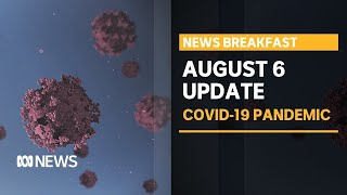 Coronavirus update 6 Aug - Victorians wake to toughest restrictions in the country | News Breakfast
