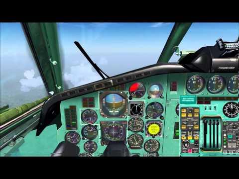 Tutorial Tu-154 FSX FS2004 FS09 Prepar3D Part 2