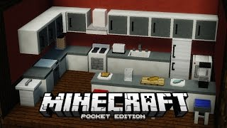 Basic Furniture Ideas Tutorial Minecraft PE