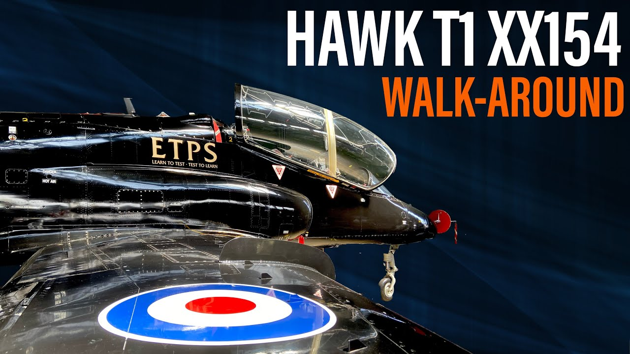Hawk T1 XX154    Walk-Around