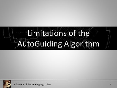 Evaluating the Autoguiding Algorithm