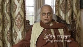 Narmada Seva Yatra comments by Pandit Jasraj Ji