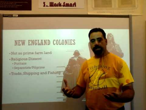 Lecture 5 Comparison of British Colonies